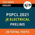 PSPCL JE Electrical Prelims 2021 Online Test Series