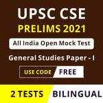 UPSC CSE Prelims 2021 PAN India Open Mock Test