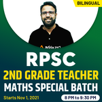 RPSC 2nd Grade Teacher Maths Special Complete Batch| HINGLISH | Live Classes By Adda247
