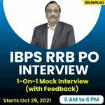 IBPS RRB PO INTERVIEW | 1-On-1 Mock Interview (with Feedback) | Bilingual | BILINGUAL | Interview Batch BY ADDA247