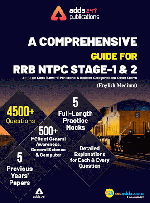 A Comprehensive Guide for RRB NTPC, Group D, ALP & Others Exams English Printed Edition (NTPC Special)