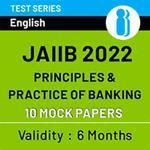 JAIIB Paper I (PPB) 2022 Online Mock Test Series (1200+ Questions)