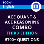 Combo Books Set for Bank Exams 2021-22 Ace Quant & Ace Reasoning (English Printed Edition)