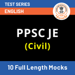 PPSC JE Online Test Series for Civil (With Solutions) 2021 | Mock Tests for PPSC JE by Adda247