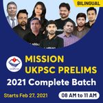 MISSION UKPSC Prelims 2021 | UK GK Bilingual Live classes Batch by Adda247