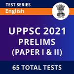 UPPSC Prelims 2021 Online Test Series by Adda247