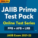 JAIIB Prime Test Pack | Online Test Series | PPB+AFB+LRB | JAIIB Exam 2021-22 (Validity 6 Months)