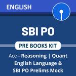 SBI PO Prelims 2021 Books Kit (English Printed Edition)