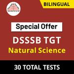 DSSSB TGT Natural Science 2021 Online Test Series (Special Offer)