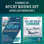 Combo of AFCAT 25+ Practice Sets with Comprehensive Guide (Set of 2 Books) English Edition