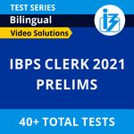 IBPS Clerk Prelims 2021 Online Test Series