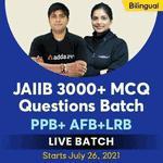 JAIIB 3000+ MCQ Questions Batch| JAIIB 2021 |PPB+ AFB+LRB | Bilingual | Live Classes By Adda247