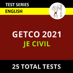 GETCO JE Civil 2021 Online Test Series