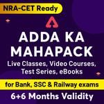 ADDA ka Mahapack (Validity 6 + 6  Months)