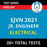 SJVN Electrical Junior Field Engineer 2021 Online Test Series