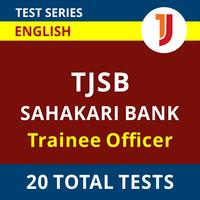 Adda247 Prime Test Series for TJSB Sahakari Bank Trainee Officer 2021_60.1