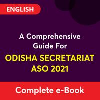 Comprehensive Guide For Odisha Secretariat ASO 2021_50.1