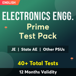 Electronics Engineering Exam Prime Test Pack (12 Months Validity)