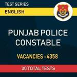 Punjab Police Constable 2021 Online Test Series