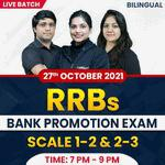 RRBs BANK PROMOTION EXAM | SCALE 1-2 & 2-3 | Complete Bilingual | Live Classes By Adda247