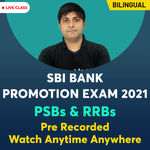 Bank Promotion Exam Pre Recorded Videos for PSBs & RRBs 2021 | Complete Bilingual Batch by Adda247